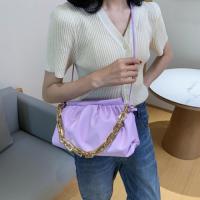 Medium Size Ladies Fashion Crossbody Bag - Purple