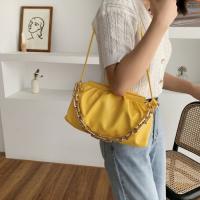 Medium Size Ladies Fashion Crossbody Bag - Yellow