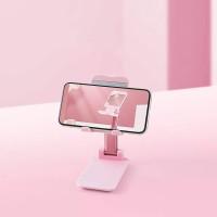 Adjustable Folding Desktop Phone Tablet Ipad Stand Holder - Pink
