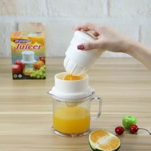Multi Function Portable Manual Fruit Juicer  - White