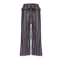 Stripes High Waist Wide Leg Comfy Wear Trouser For Women - Multi Color