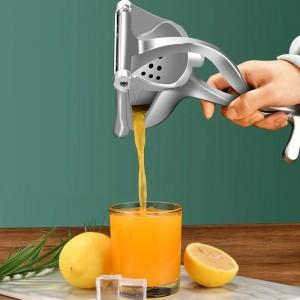 High Quality Manual Citrus Press Juicer Fruits Squeezer - Silver