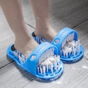 Remove Dead Skin Foot Massage Slipper - Blue