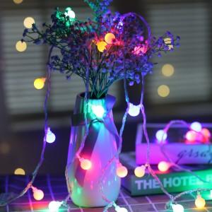 100 Pcs Bulb Circular Outdoor Indoor Decoration Lights - Multi Color