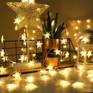 100 Pcs Star Outdoor Indoor Decoration Led Lights - Yellow