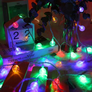 20 Pieces 3 Meter USB Power Decorative Bulb - Multi Color