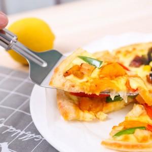 Pizza Knife Cutting Utensils Cake Shovel - Silver