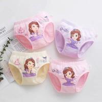 Girls Printed Cute Four Pieces Underwear Set