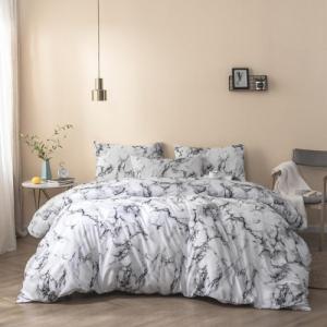 Marble Design Queen Size 6 Pieces Bedding Set