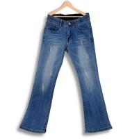 Fitted Tassel Casual Wear Bottom Pants - Blue