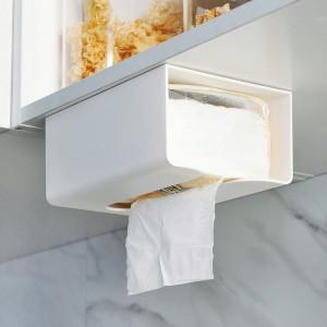 Multifunctional Strong Adhesive Tissue Box - White