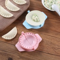Easy Convenient Kitchen Manual Dumpling Tool Maker - Pink