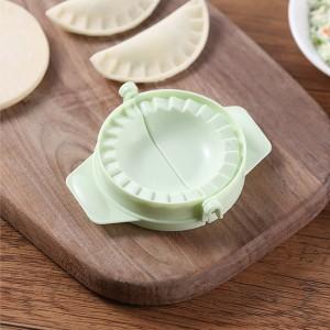 Easy Convenient Kitchen Manual Dumpling Tool Maker - Green
