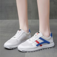Lace Closure Sports Wear Sneakers - Red