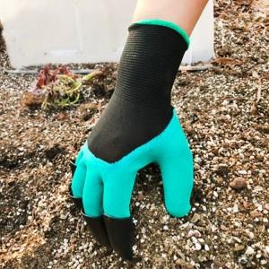 Non Slip Garden Planting Digging Gardening Gloves - Multicolor