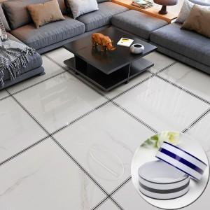 Waterproof  Self Adhesive Removable Living Room Tile Gap Sticker - Black