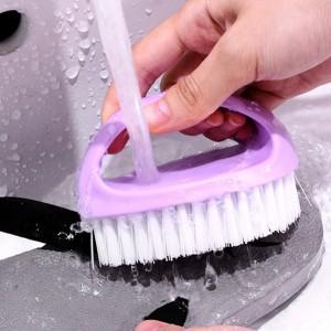 Multi Functional Simple Shoe Laundry Brush - Purple