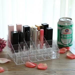 Desktop Lipsticks Cosmetics Storage Box - Transparent