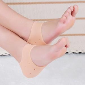 Anti Dry Anti Crack Heel Protective Sleeves - Skin