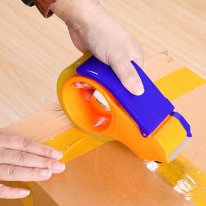 Packing Sealer Handle Adhesive Tap Dispenser Cutter - Blue