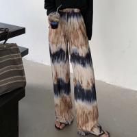 Elastic Waist Casual Wear Trousers - Khaki