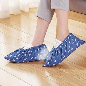 Thicken Wear Resistant Non Slip Cloth Shoe Cover - Blue