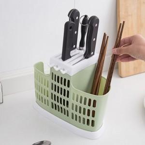 Multi Functional Kitchen Chopstick Holder - Green