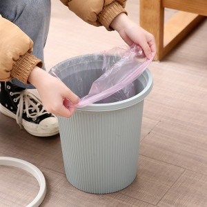 5 Rolls Thicken Disposable Garbage Bags - Pink