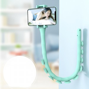Creative Cute Worm Lazy Mobile Phone Holder - Green