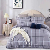 Geometric Printed Three Pieces Bedsheet With Pillow Cases Set - 180 x 230cm