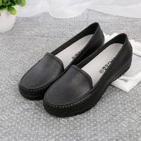 Slip Over Casual Wear Women Fashion Flat Shoes - Black