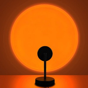 Room Decoration Studio Projection Usb Lamp Light - Setting Sun
