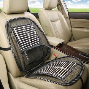 High Quality Breathable Mesh Car Seat Cushion - Black