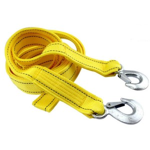 4 Meter Double Deck Powerful Car Trailer Rope - Yellow