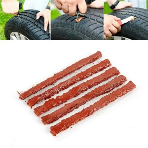 5 Pieces Quick Tire Repair Tapes - Brown