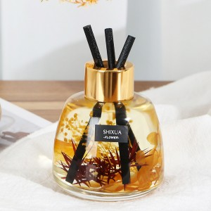 Car Essential Oil Aromatherapy Ornaments Perfume- Yellow