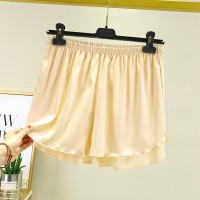 Elastic Waist Loose Casual Wear Women Shorts - Skin