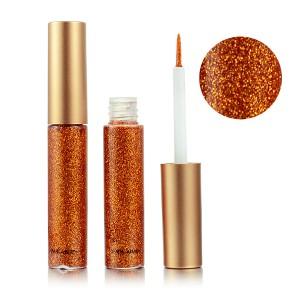 Glitter Shiny Eye Shadow Party Wear Shades - Orange