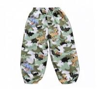 Comfluage Printed Elastic Waist Trouser For Kids - Green