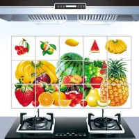 Fruit Print Temperature Resistant Anti Dirt Kitchen Protective Sheet - Multicolor