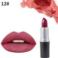 Non Fading Womens Fashion Retro Matte Lip Lipstick #12