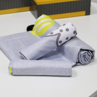 Printed Three Pieces Bedsheet With Pillow Cases Set - 180 x 230cm