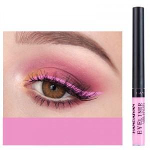 Matte Liquid Long Lasting High Pigmented Eye Liner - Pink