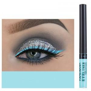 Matte Liquid Long Lasting High Pigmented Eye Liner - Blue