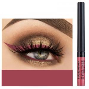 Matte Liquid Long Lasting High Pigmented Eye Liner - Dark Red