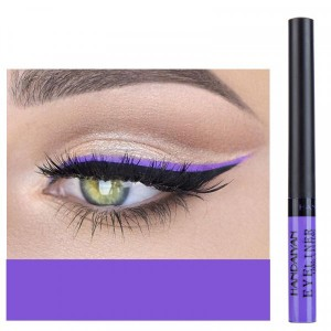 Matte Liquid Long Lasting High Pigmented Eye Liner - Purple