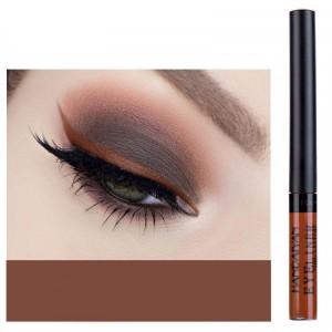 Matte Liquid Long Lasting High Pigmented Eye Liner - Brown