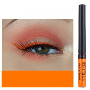 Matte Liquid Long Lasting High Pigmented Eye Liner - Orange