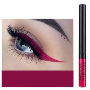 Matte Liquid Long Lasting High Pigmented Eye Liner - Rose