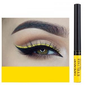 Matte Liquid Long Lasting High Pigmented Eye Liner - Yellow